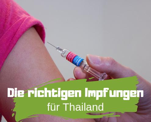 Impfung mit Nadel
