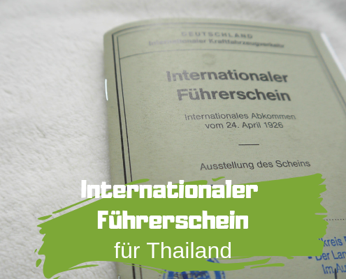 Internationaler Führerschein Thailand
