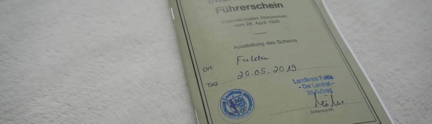 Internationeler Führerschein