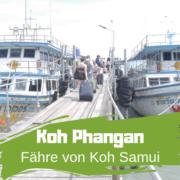 Fähre Koh Phangan nach Koh Samui