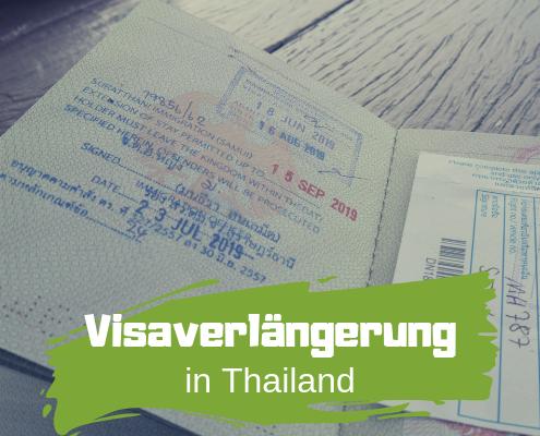 Visum in Thailand verlängern